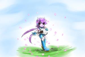 Sash Lilac V2 fan art by KenjiKanzaki05