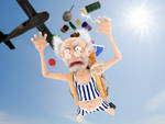 Parachute Jump by labilant