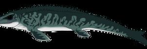 Mosasaurus by rainbowarmas