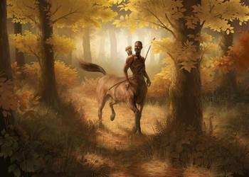 Woodland Tracker by Petrichora