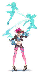 Tracer punk by TrololhAnime