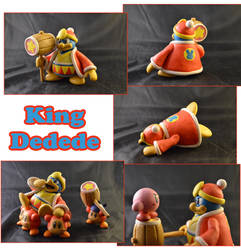 Weekly Sculpture: King Dedede by ClayPita