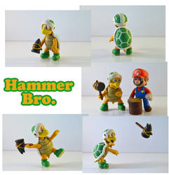 Weekly Sculpture: Hammer Bro. by ClayPita