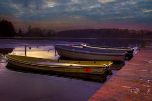 Sleeping boats by chevyhax