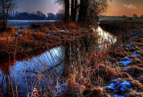 Cold River In The Morningsun by chevyhax
