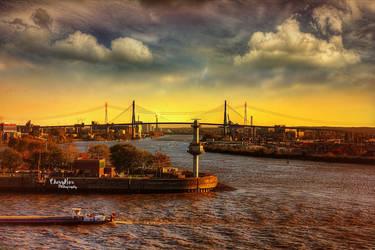 Hamburger Hafen by chevyhax