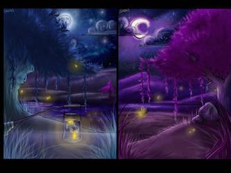 Two Nights- Wallpaper by Sadir89