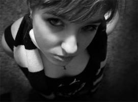black and white by Sadir89