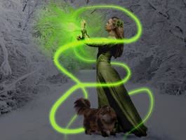 Goddess Freyja by silverelfshadows
