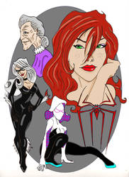Spideys Women by Gilliland35