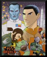 Star Wars Rebels by Gilliland35