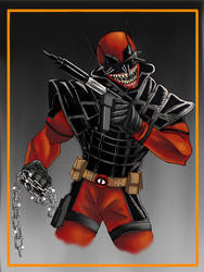 The Deadpool Who Laughs by Gilliland35