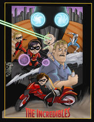 Incredibles 2 by Gilliland35