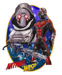 Antman And the Wasp by Gilliland35