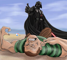 I HATE SAND! by Gilliland35