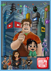 Ralph Breaks the Internet  by Gilliland35