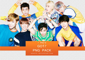 GOT7 PNG Pack by aeggyo