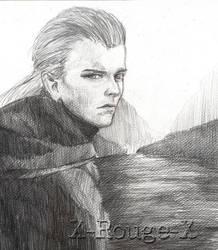 Legolas Greenleaf by X-Rouge-X