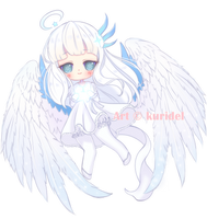 Simple chibi Commission #2 by Kuridel