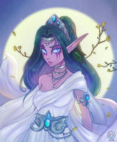 Tyrande Whisperwind by Kuridel