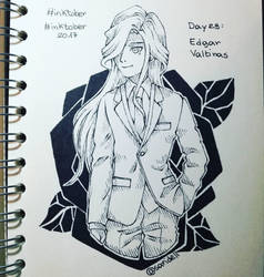 Inktober Day 29 Edgar Valtinas by SariDell