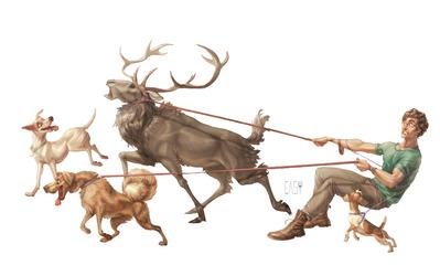 swiggity stag by E-a-s-y