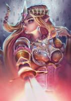 Princess Zelda by holyroseholy