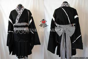 SkullxButterfly Kimono 1 by brokensymphony