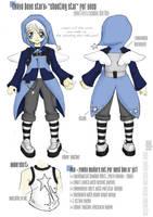 BJD fashion design Nagareboshi by brokensymphony