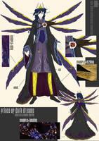 BJD fashion design Dark Prince by brokensymphony