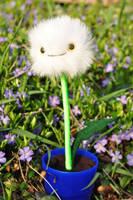 Dandelion plush by brokensymphony