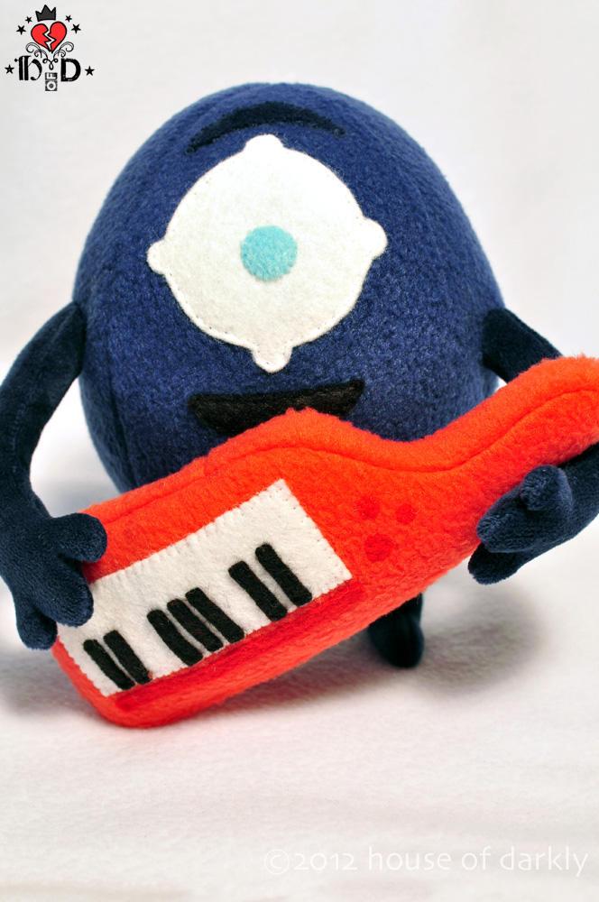 Meemert plush mascot by brokensymphony