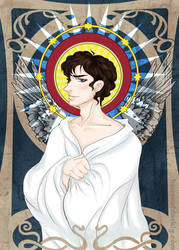 Saint Sherlock of the Sacred Sheet by brokensymphony