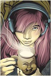 The Happy Mug by rhobdesigns