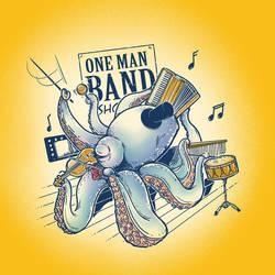 ONE MAN BAND by rhobdesigns
