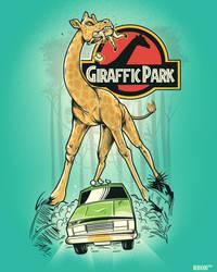 GIRAFFIC PARK by rhobdesigns