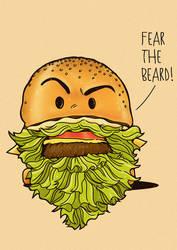 Fear The Beard by rhobdesigns