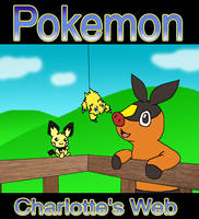 Pokemon Charlotte's Web by Kat-Skittychu