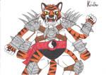 Mortal Kombat II Kintaro by CARGOCAMP