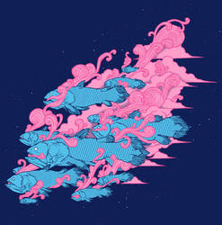 Coelacanth - Shirt Design by scumbugg
