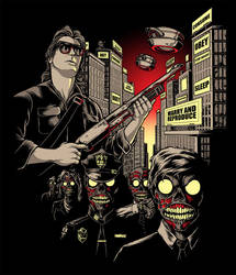 They Live - Fright Rags tee by scumbugg
