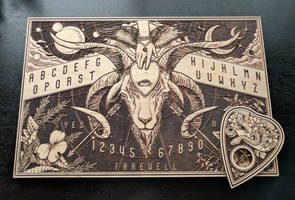 Ouija Board - Laser Etched by scumbugg