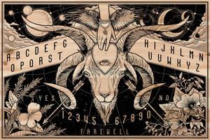Ouija Board - Art Detail by scumbugg