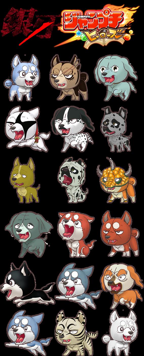 Jumputi Heroes - Ginga Characters by FDQ