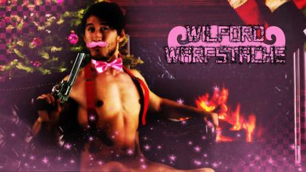 Warfstache desktop wallpaper by FDQ
