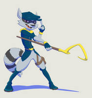 Sly Cooper 2.0 by StinaSketchbook