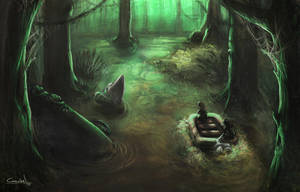 swamp concept by beacascabel