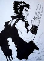 Inktober day 14 - Wolverine by beacascabel
