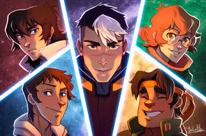 Voltron Fanart by beacascabel