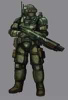 Nexus Tactical Marine by Lichen93